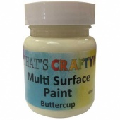 That's Crafty! Multi Surface Paint - Buttercup