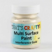 That's Crafty! Multi Surface Paint - Interference Gold