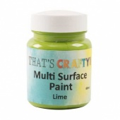 That's Crafty! Multi Surface Paint - Lime