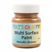 That's Crafty! Multi Surface Paint - Metallic Bronze