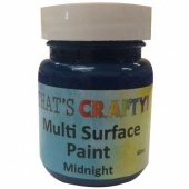 That's Crafty! Multi Surface Paint - Midnight