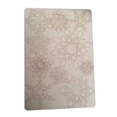 That's Crafty! Surfaces Bits and Pieces Greyboard Sheet - Large Snowflakes