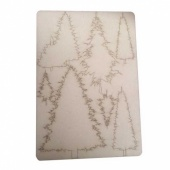 That's Crafty! Surfaces Bits and Pieces Greyboard Sheet - Pine Trees