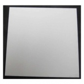 That's Crafty! Surfaces White/Greyboard Panels - 8x8 - Square Corners - Pack of 5