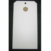 That's Crafty! Surfaces White/Greyboard Tags - Pack of 6 - #10