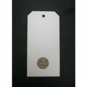 That's Crafty! Surfaces White/Greyboard Tags - Pack of 12 - #5