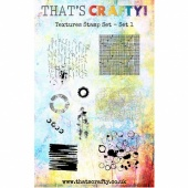 That's Crafty! Clear Stamp Set - Textures Collection - Set 1