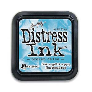 Tim Holtz Distress Ink Pad - Broken China