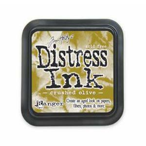 Tim Holtz Distress Ink Pad - Crushed Olive