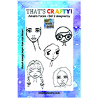 That's Crafty! Clear Stamp Sets by Blue Woods Design