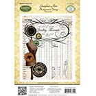 JustRite Cling Mounted Stamps