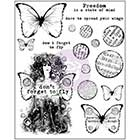 Prima Finnabair Cling Mounted Stamps