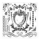 Prima Iron Orchid Designs Decor Clear Stamp Sets