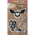 STAMPENDOUS! Andy Skinner Cling Rubber Stamps