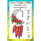 That's Crafty! Clear Stamp Sets by Ingrid Kristina V