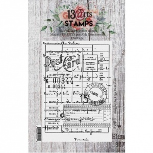 13 Arts A7 Clear Stamp - Avril
