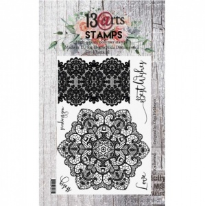 13 Arts A6 Clear Stamp Set - Crocheted