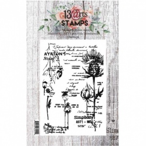 13 Arts A7 Clear Stamp - Nature