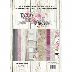 13 Arts A4 Paper Pad - Amour