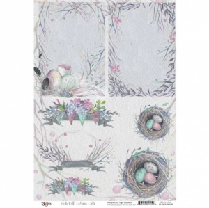 13 Arts A4 Paper Sheet - On the Wall - Nests