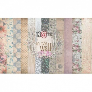 13 Arts 12ins x 12ins Paper Pack - On the Wall