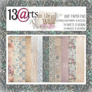 13 Arts 6ins x 6ins Paper Pack - On the Wall