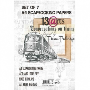 13 Arts A4 Paper Collection - Conversations on a Train