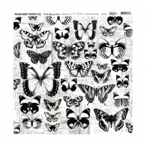 13 Arts Transparent Foil (Acetate) - Butterfly Garden