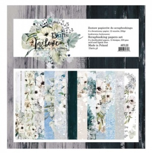 13 Arts 12ins x 12ins Paper Pack - In Love