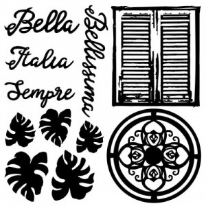 13 Arts Chipboard - Bella