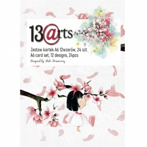 13 Arts A6 Paper Pack - Pastel Spring