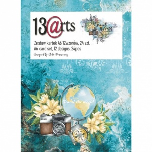 13 Arts A6 Paper Pack - Travel the World