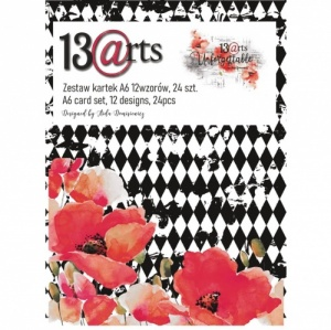 13 Arts A6 Paper Pack - Unforgettable