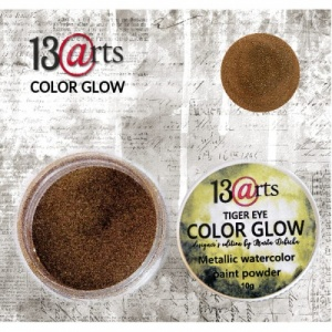 13 Arts Metallic Color Glow - Tiger Eye