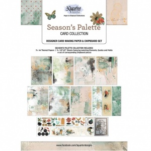3Quarter Designs Seasons Palette Card Collection