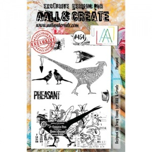 AALL & Create A5 Stamp Set #454 - Pheasant