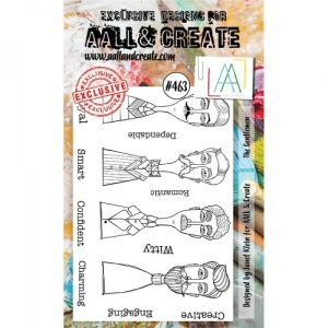 AALL & Create A6 Stamp Set #463 - The Gentlemen