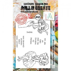 AALL & Create A7 Stamp Set #475 - Marilyn