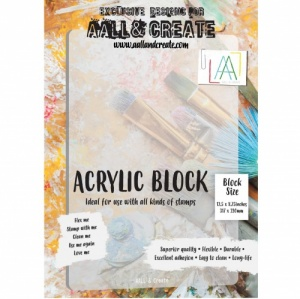 AALL and Create Acrylic Block - A4