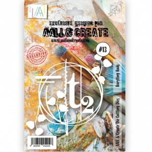 AALL and Create Die #13 - Bursting Buds