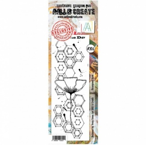AALL & Create Border Stamp #206 - Hexagonal Stem