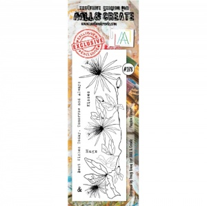 AALL and Create Border Stamp #278 - Passion Flower