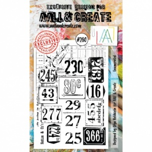 AALL and Create Stamp Set #280 - Enumerated