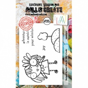 AALL and Create A7 Stamp Set #295 - Adventurer