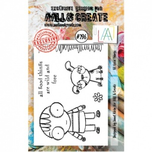 AALL and Create A7 Stamp Set #296 - All Good Things