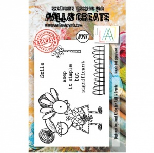 AALL and Create A7 Stamp Set #297 - Simple but Significant