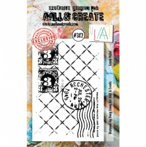 AALL and Create A7 Stamp Set #302 - Going Postal