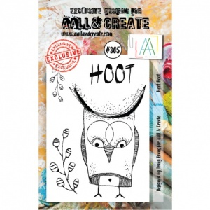 AALL and Create A7 Stamp Set #305 - Hoot Hoot