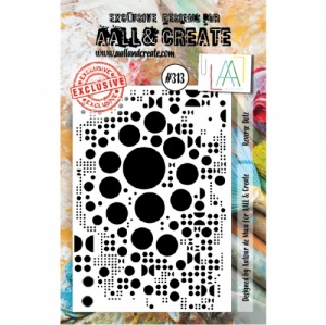 AALL and Create A7 Stamp Set #313 - Reverse Dotz