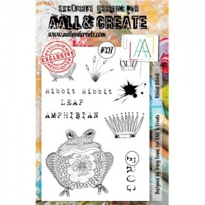 AALL and Create A5 Stamp Set #327 - Ribbit Ribbit